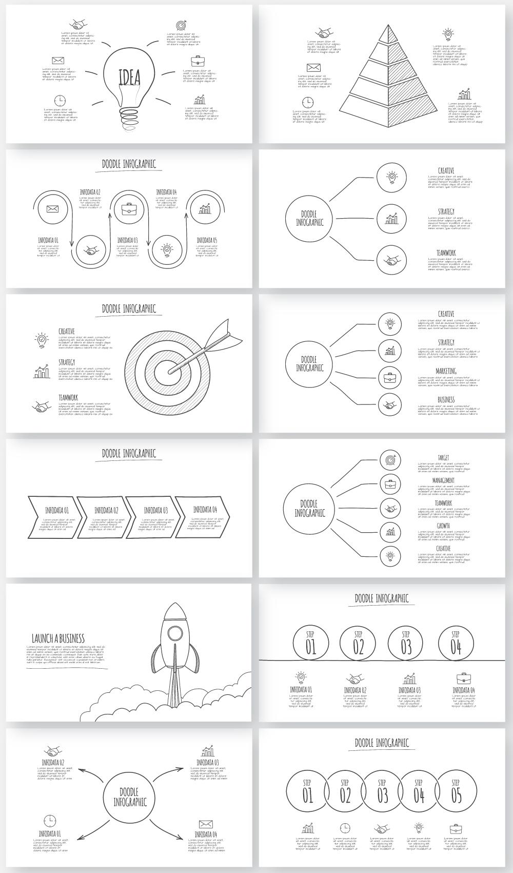 Multipurpose Infographics PowerPoint Templates v.5.0 - 145