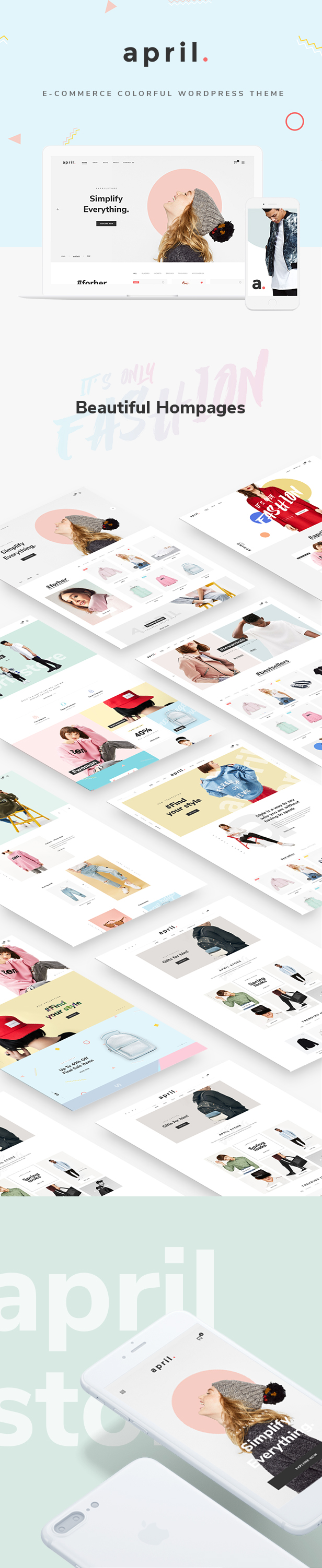 APRIL - Fashion WooCommerce WordPress Theme - 23