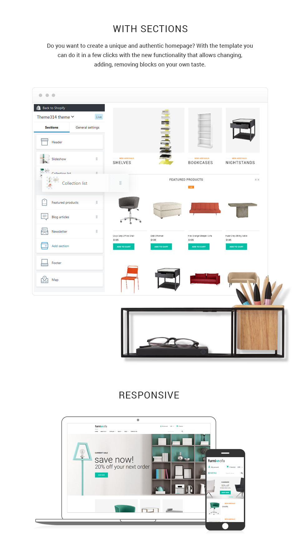 Furnisofa - Responsive Shopify Theme With Sections - 2