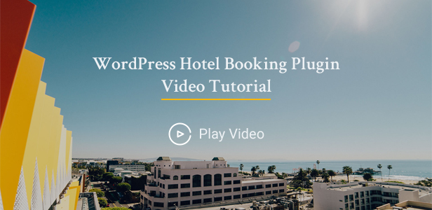 Hotel WordPress theme