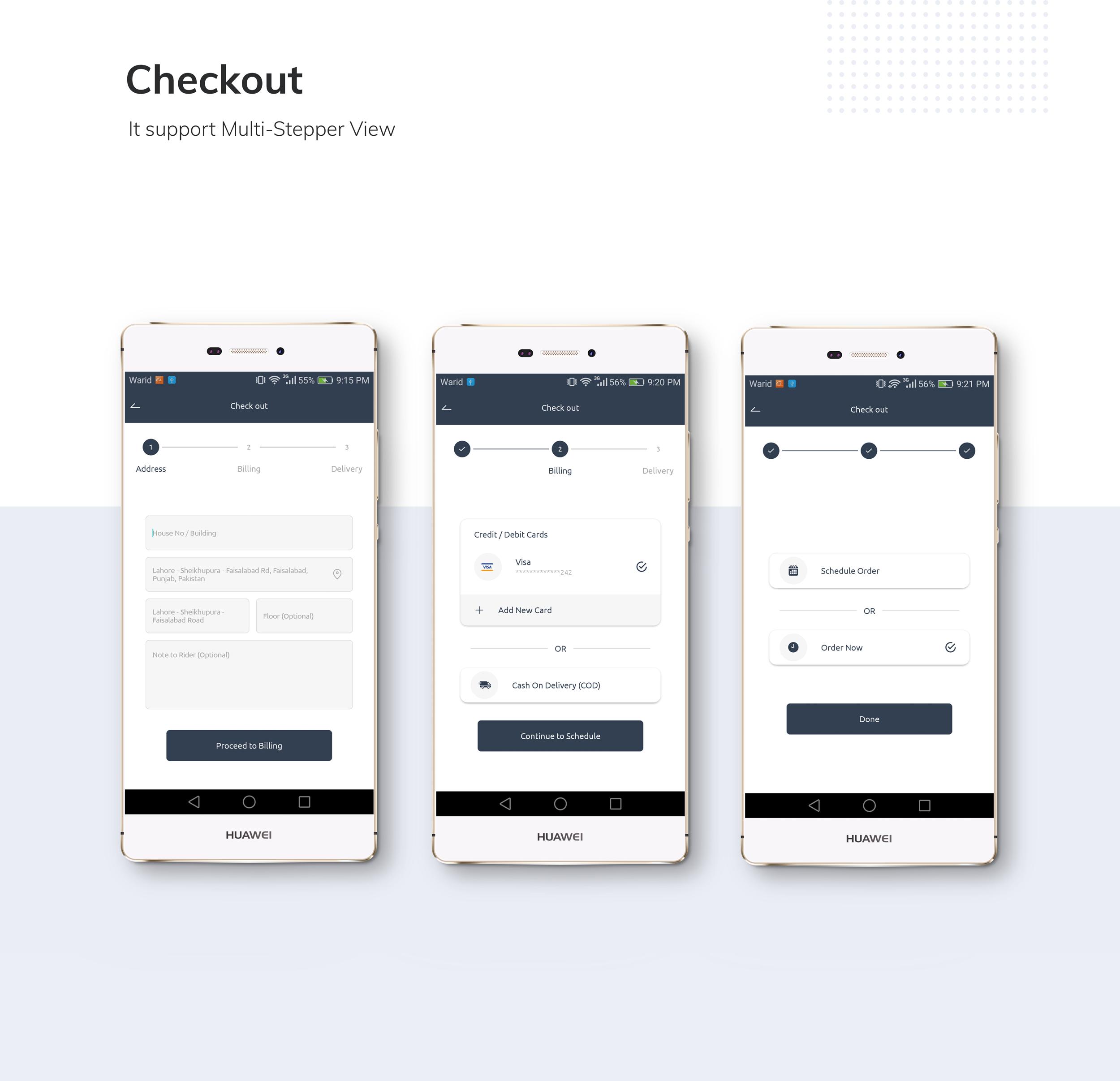 Restaurante App de entrega de comida com entregador - 6