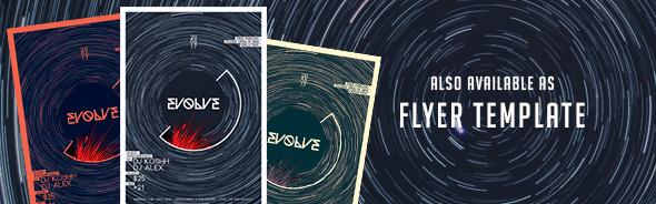 Evolve - CD Cover Artwork - 1