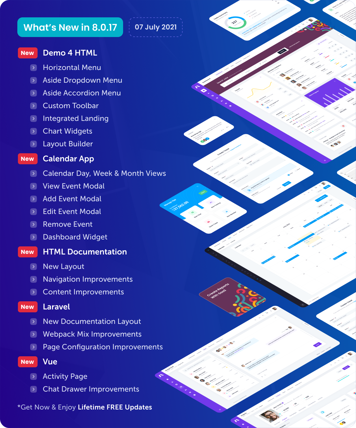 Metronic - Bootstrap 4/5 HTML, VueJS, React, Angular & Laravel Admin Dashboard Theme - 17