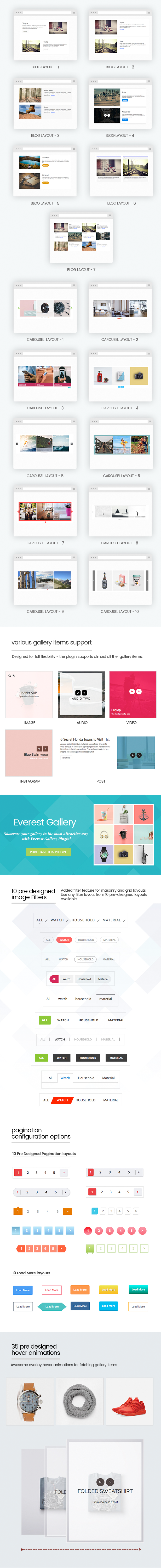 Everest Gallery - Responsive WordPress Gallery Plugin - 2