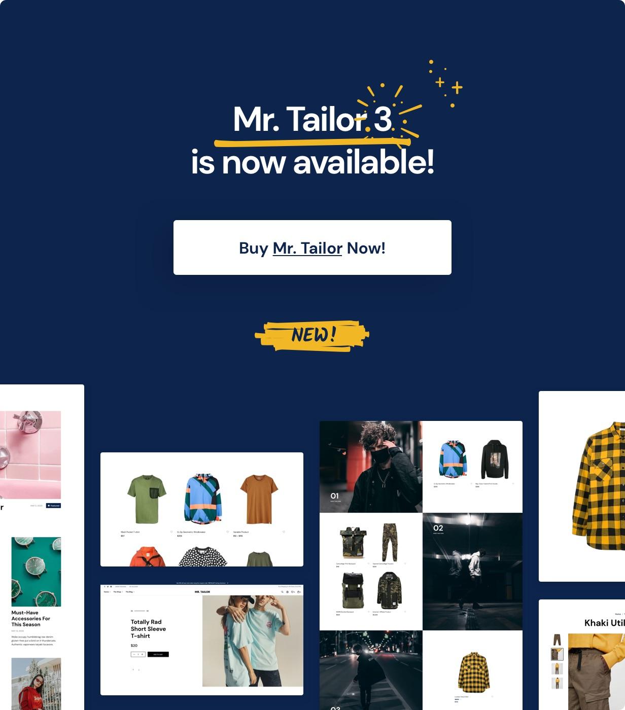 Mr. Tailor v3.0.4-响应式WooCommerce商城主题插图2