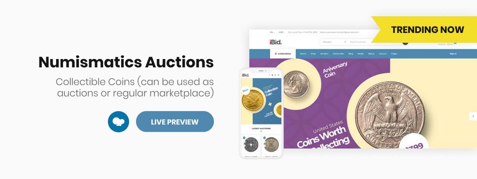 iBid - Multi Vendor Auctions WooCommerce Theme - 9
