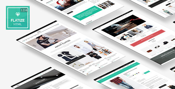 Flatize - Fashion eCommerce HTML Template