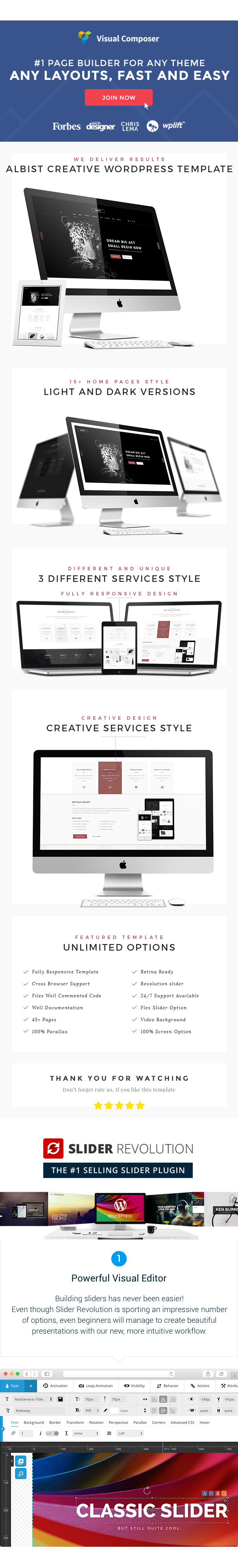ALBIST - Creative Multipurpose WordPress Theme