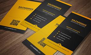 Modern Business Card Template No 5. - 4