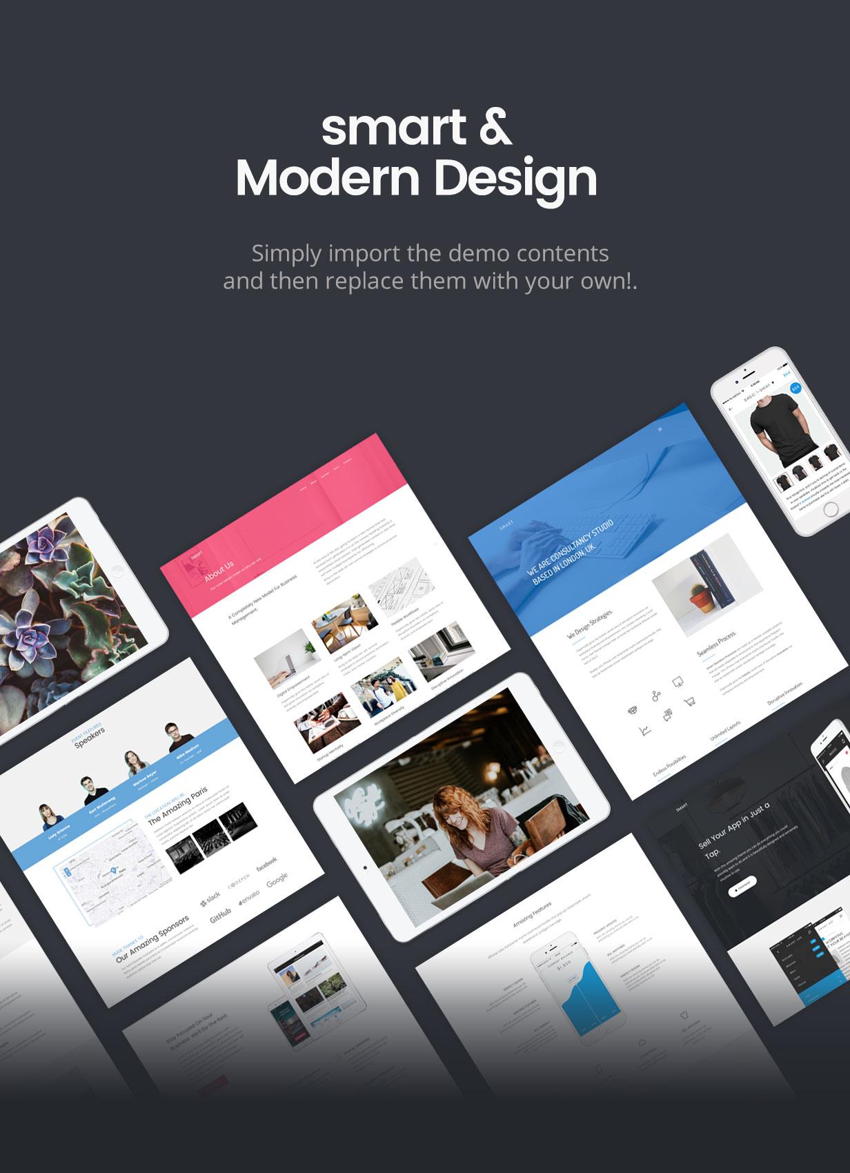 Smart — Responsive Multi-Purpose WordPress Theme - 12