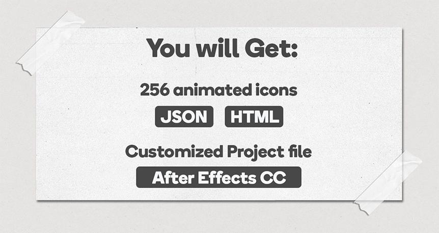 Business Bundle 256 Animated Lottie Icons - Ecommerce Marketing Office Discount - 4
