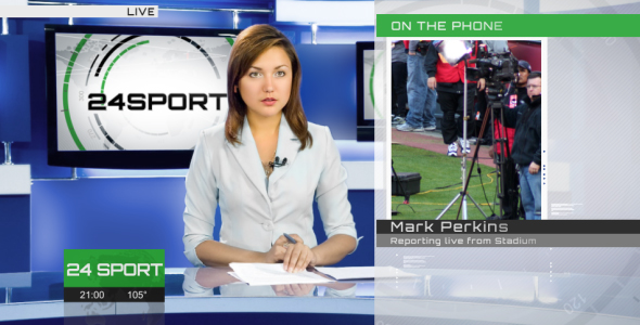 Broadcast Design - Complete News Package 2 - 16