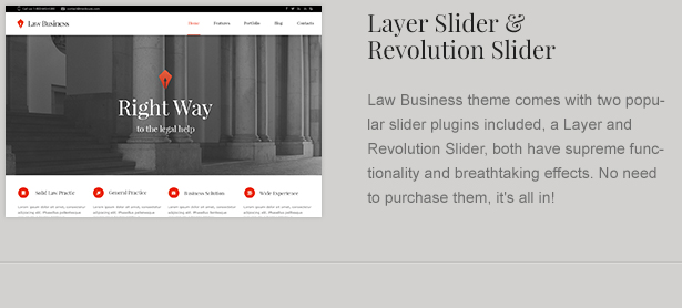 WP Slider Plugins for Legal Theme