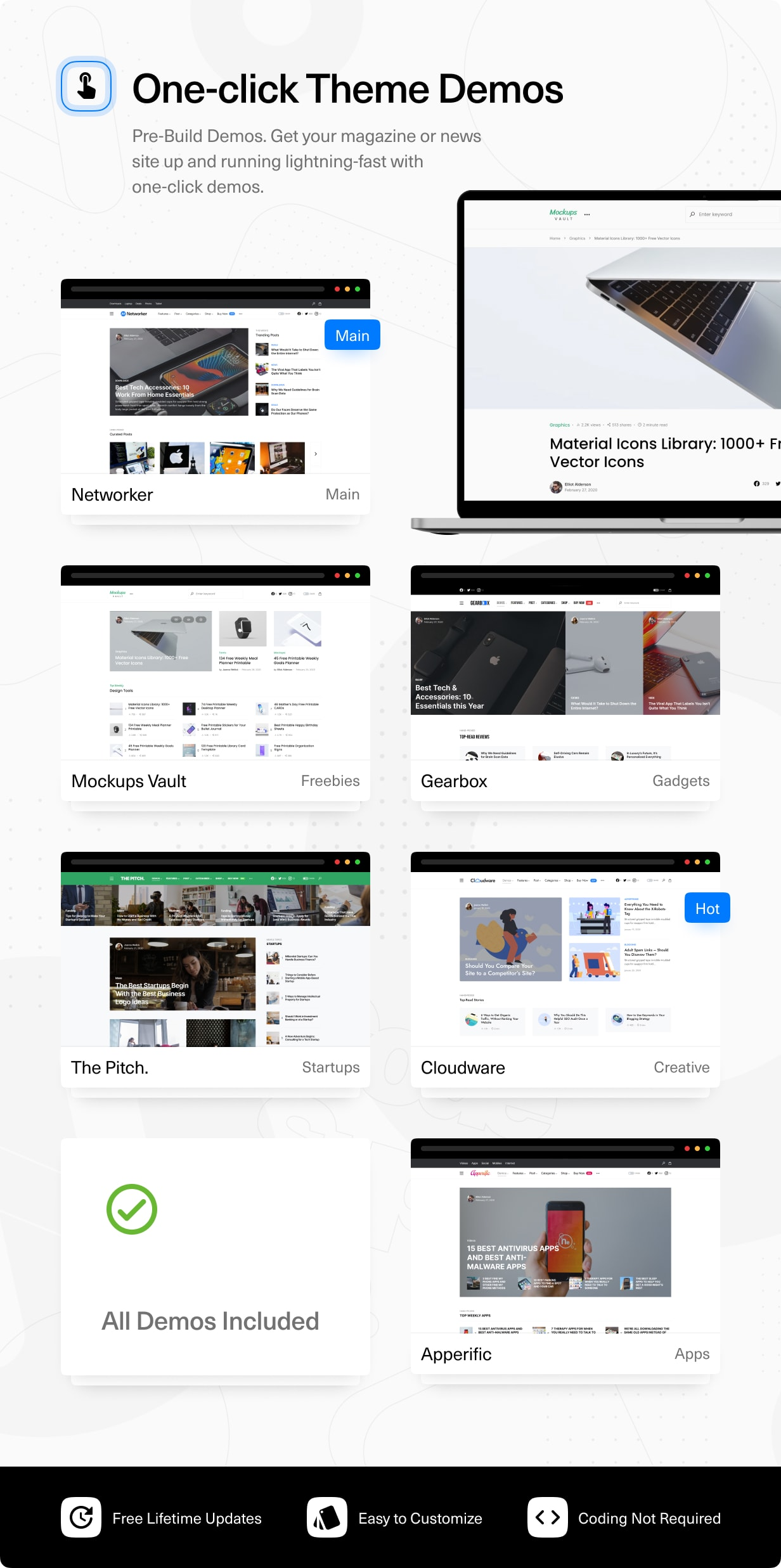 Networker - Tech News WordPress Theme with Dark Mode - 2
