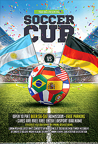 Soccer Cup Flyer '14