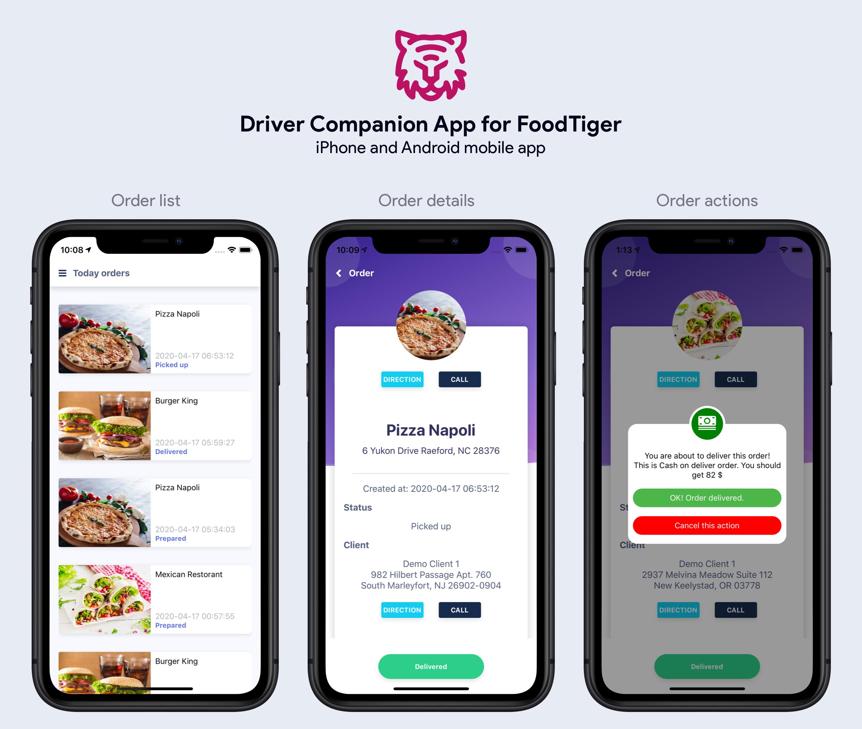 FoodTiger - Food delivery - Multiple Restaurants - 13