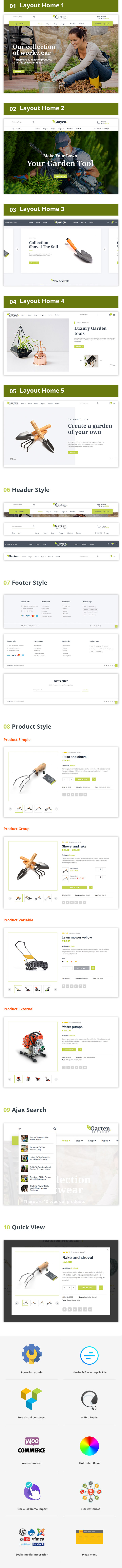 Garten - Farmer Shop WooCommerce Theme - 4