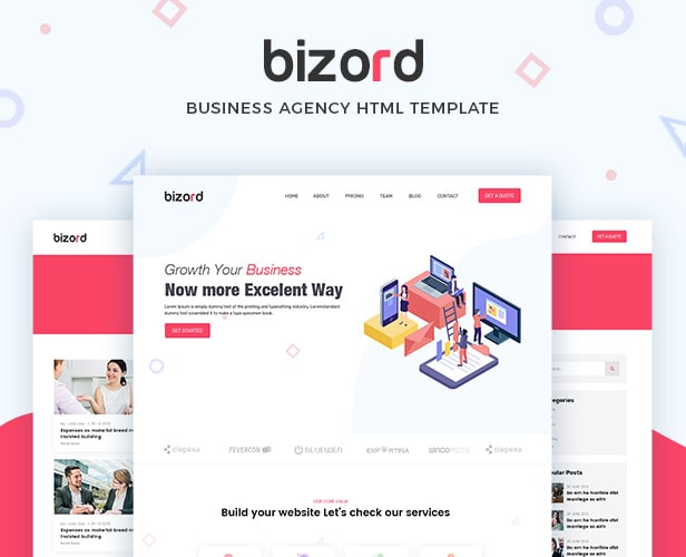 Bizord - Business Agency HTML Template