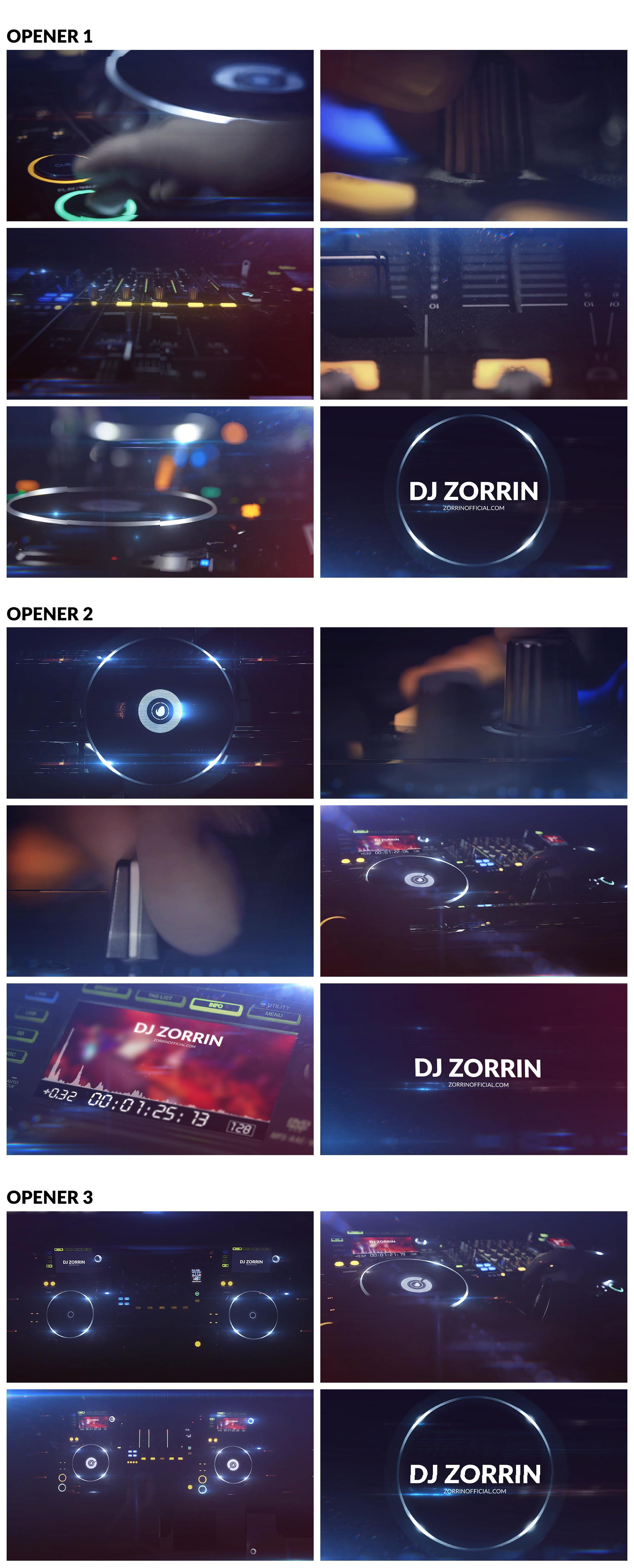 DJ // Night Club Logos - 1