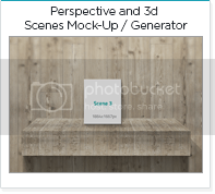 Perspective and 3d Scenes Mock-Up / Generator