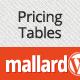 Mallard – Premium Pricing Tables Widget
