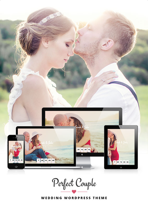 Perfect Couple - Wedding WordPress Theme - 1