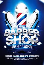 Barber Shop Flyer Template