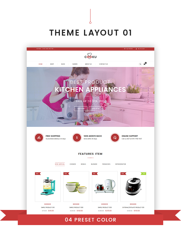 VG Cooku - Clean, Simple WooCommerce WordPress Theme - 13