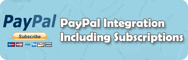 PayPal Integration Including Subscriptions