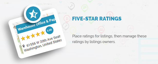 Five Star ratings