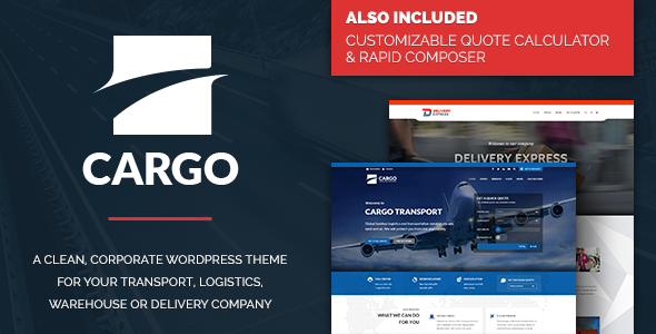 Cargo - Transport, Logistics & Warehouse Theme