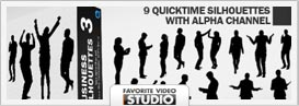 Active Life Rotating Silhouettes Pack - 18