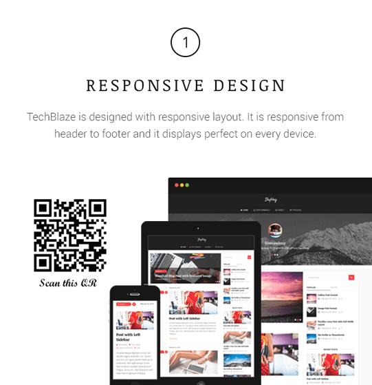 TechBlaze - Professional WordPress Blog Theme - 1