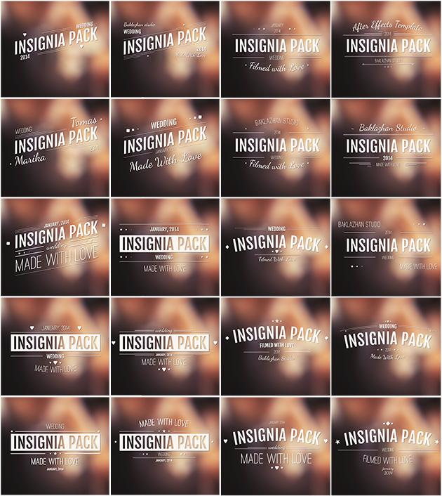 Insignia Pack