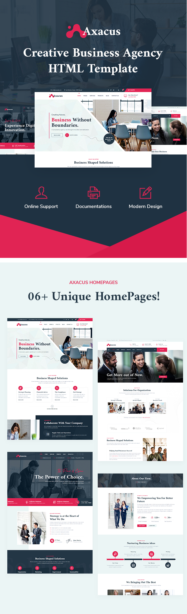 Business Agency HTML Template