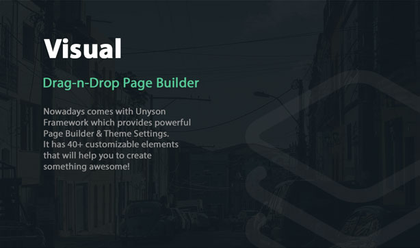 NowaDays - Multipurpose One/Multipage WordPress Theme - 8