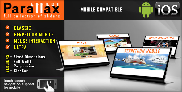 Parallax Slider - Responsive jQuery Plugin