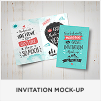 Square Book Mock-up / Dust Jacket Complete Edition - 34