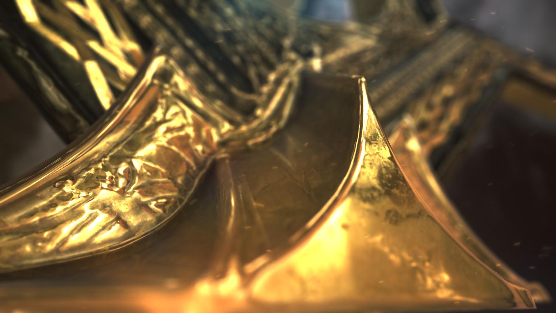 Gold Element Logo - 2