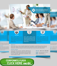 Corporate Business Flyer Template - 4
