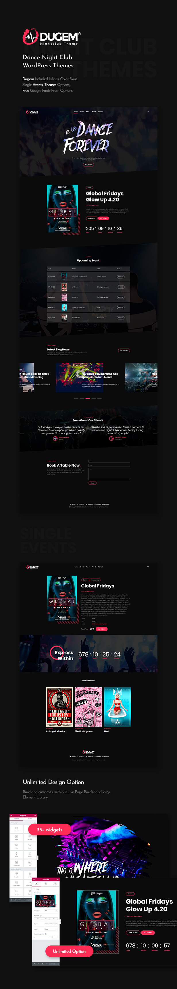 Dugem | Dance Night Club WordPress Theme