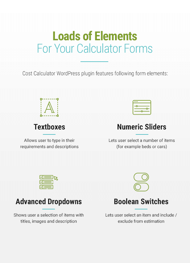 Cost Calculator v2.0.0 - WordPress Plugin 5