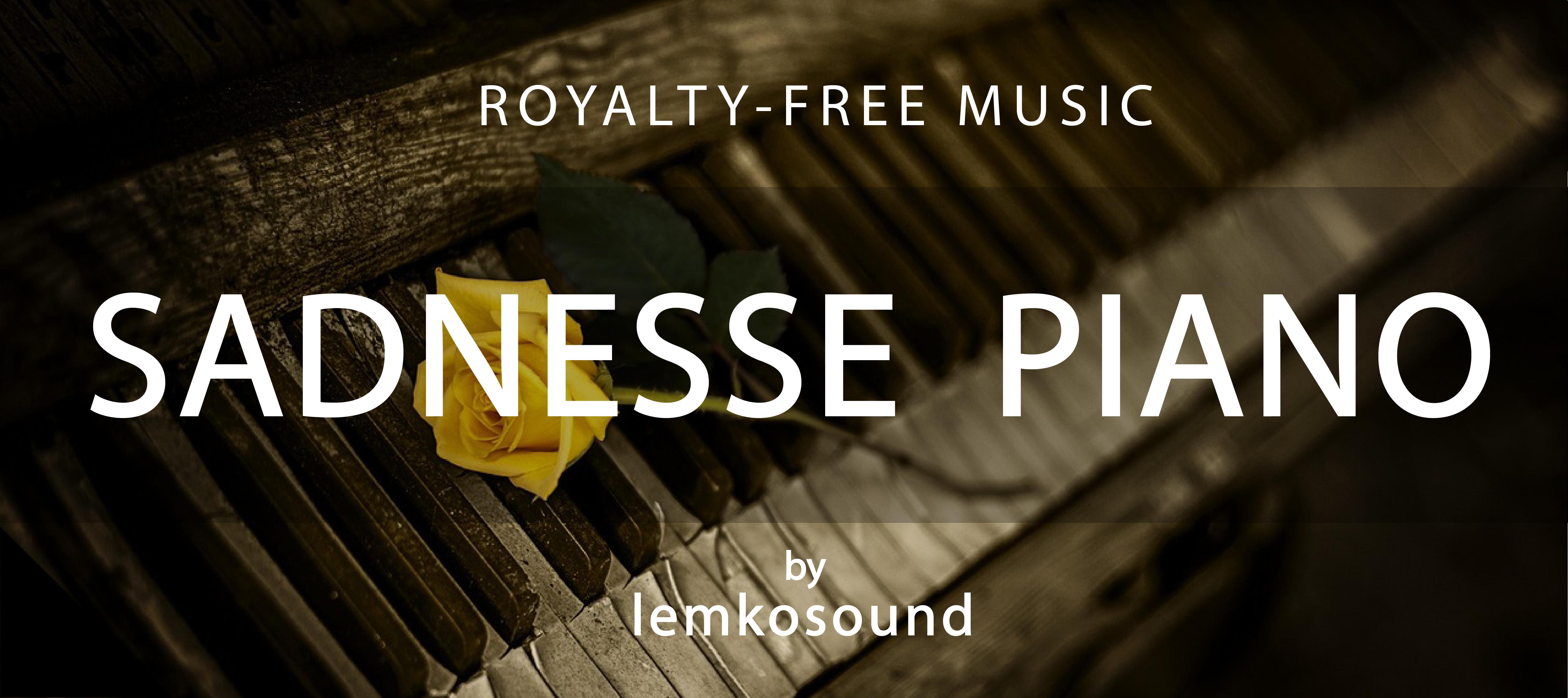 Sadness Piano by LemkoSound | AudioJungle