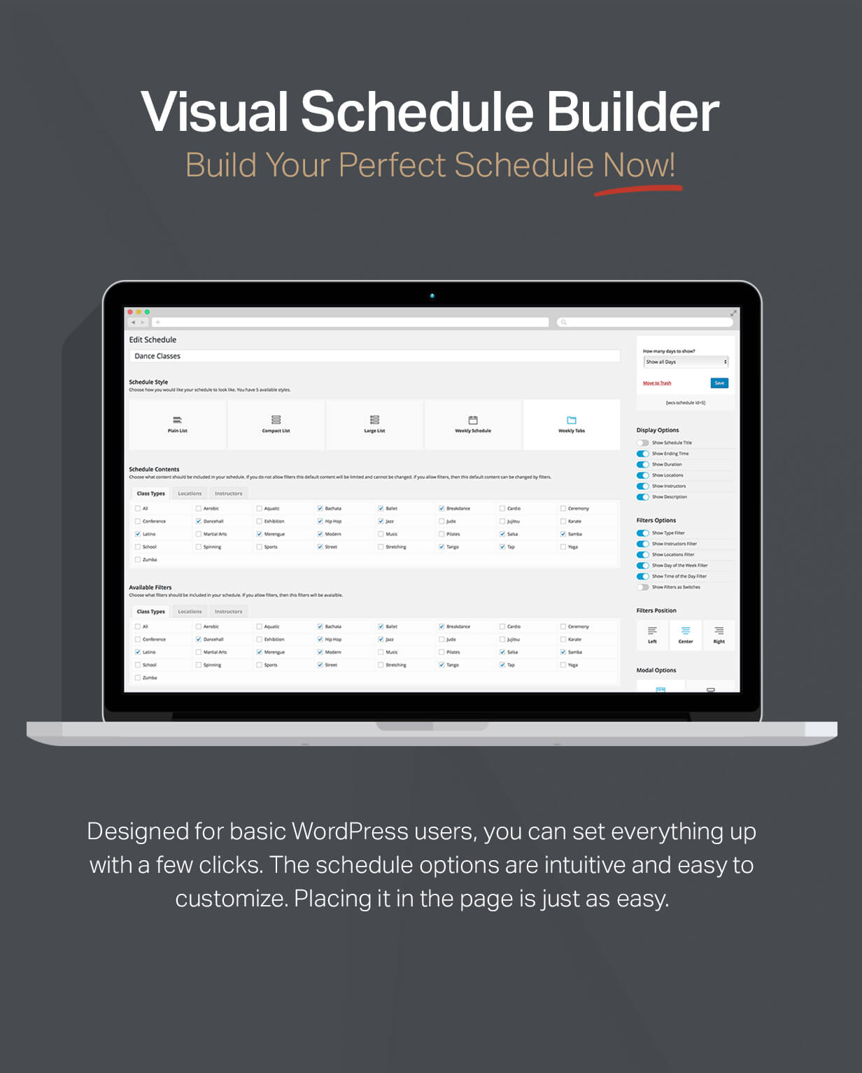 Events Schedule - WordPress Events Calendar Plugin - 8