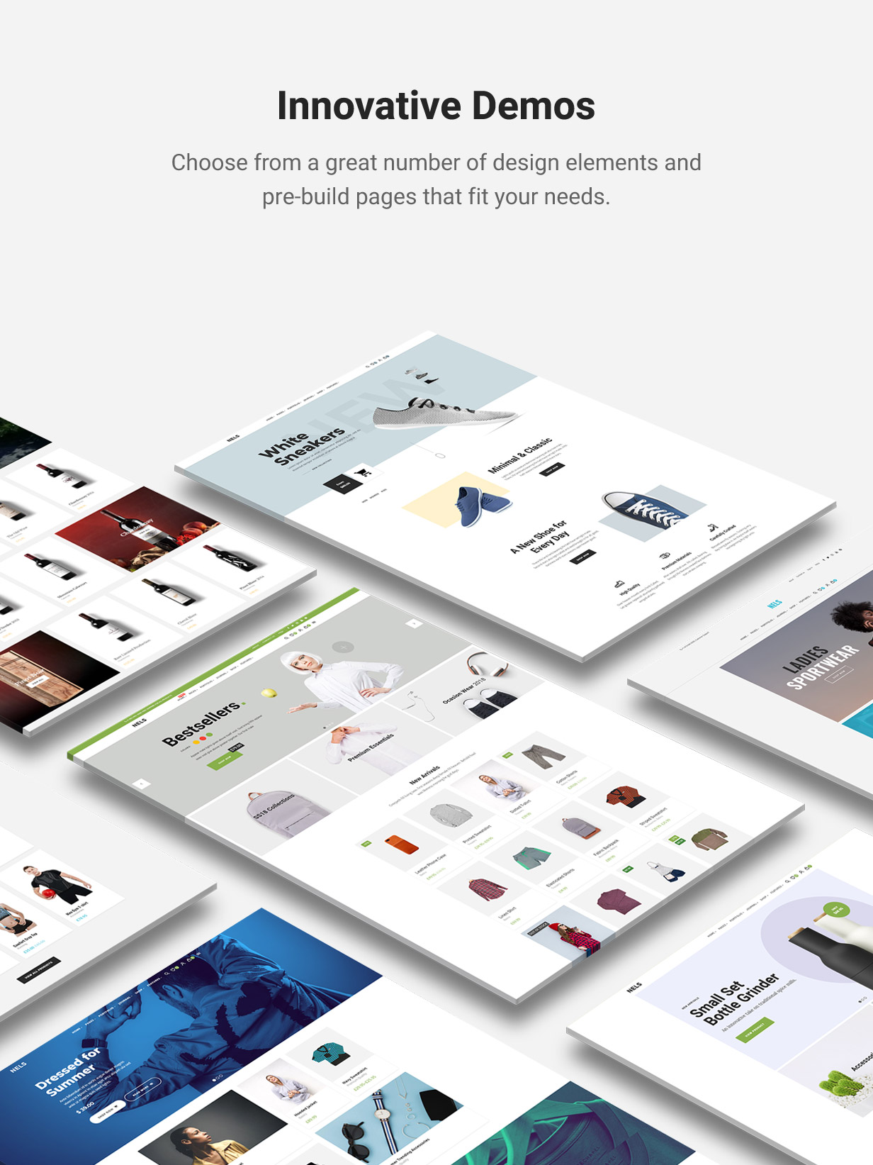 Nels - An Exquisite eCommerce WordPress Theme - 2