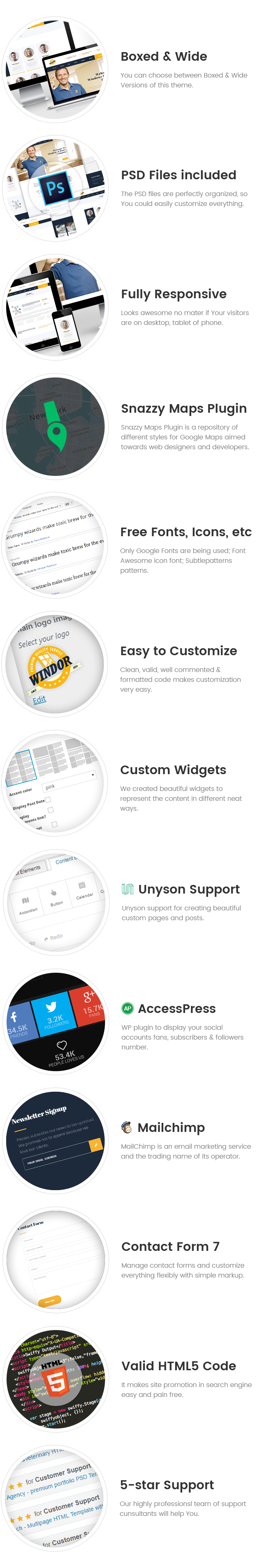 Windor – Manufacturing WordPress Theme