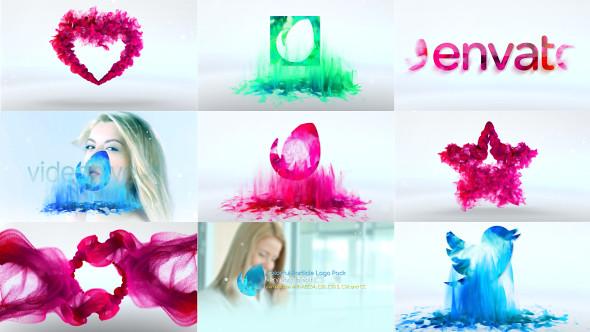 Water Drop Splash Logo - 45