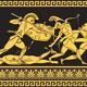 Vector Vintage Gold Greek Ornament (Meander) - 4