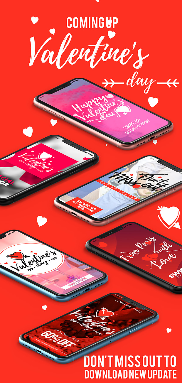 Instagram Valentine's Day Unique Stories 2019