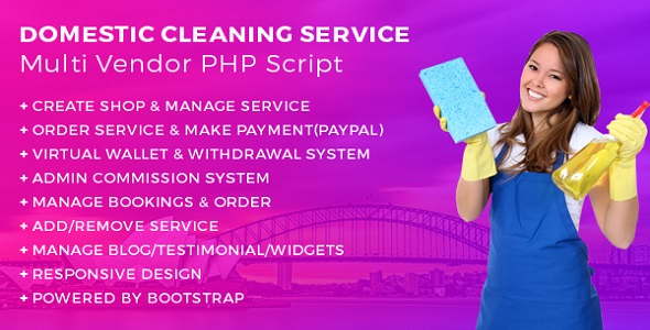 Laundry Service PHP script - 5